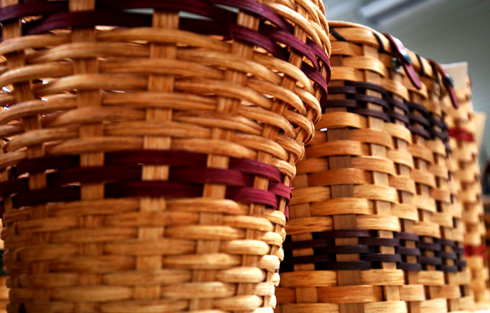 amish made baskets