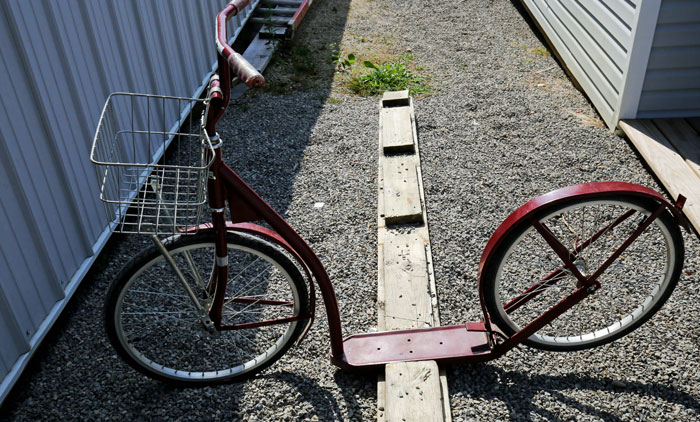 amish bicycle
