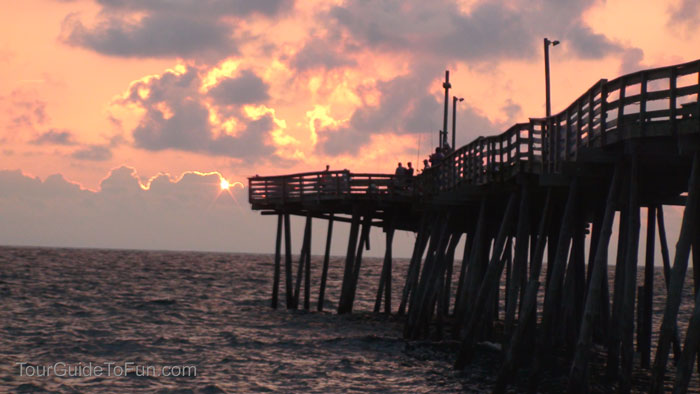wooden fishing pier kill devil hills