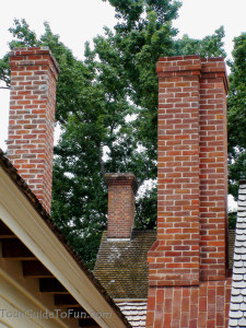 colonial williamsburg chimneys