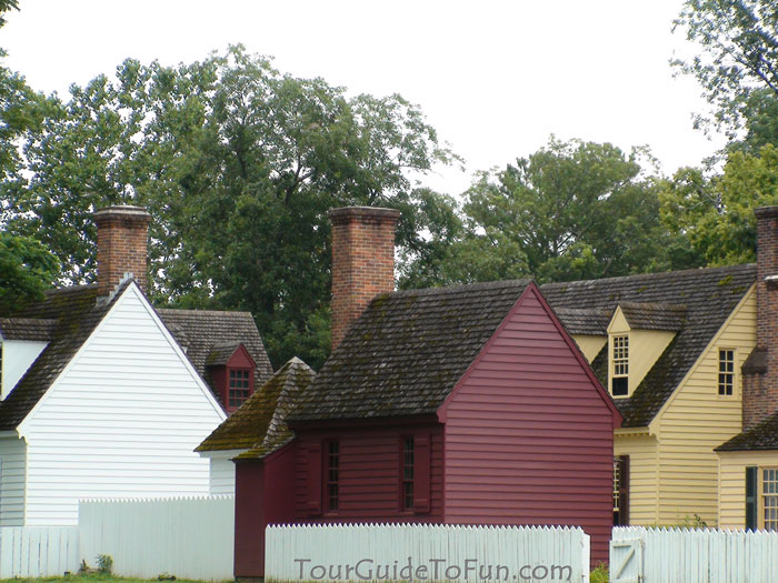 Colonial Williamsburg Houses