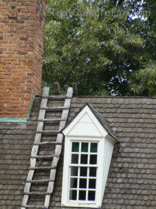 colonial williamsburg rooftops