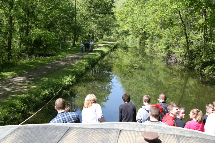 Canal Boat Tour in Coshocton Ohio