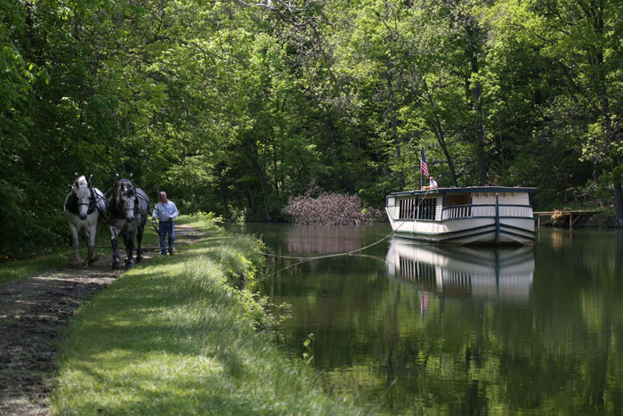 Canal Ride at Historic Roscoe Village