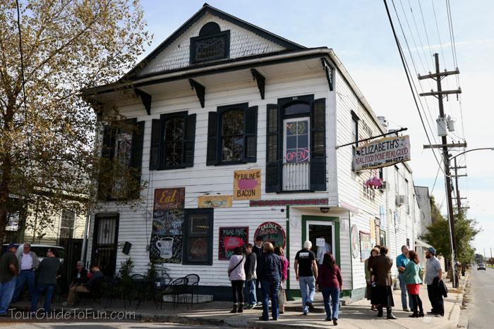 Elizabeths Restaurant New Orleans