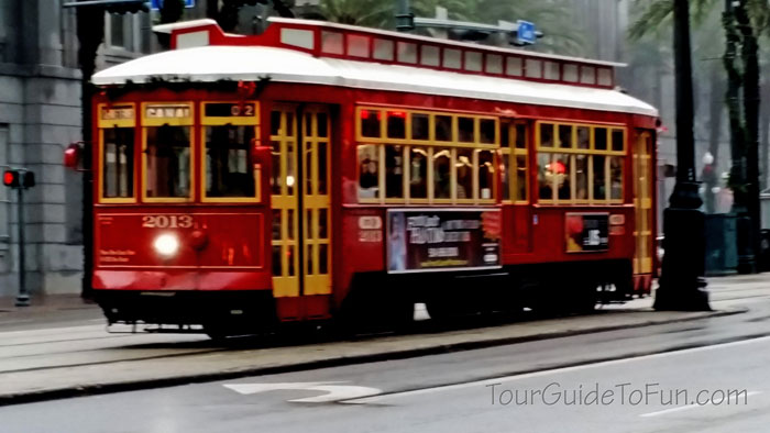 St Charles Streetcar New Orleans Trolley