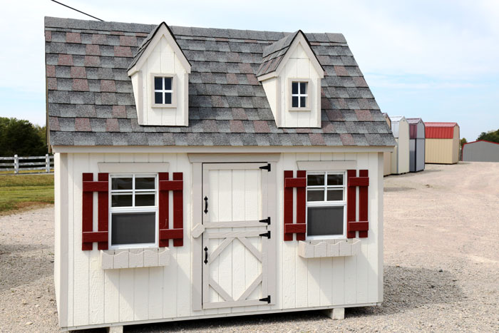 amish made barn storage shed