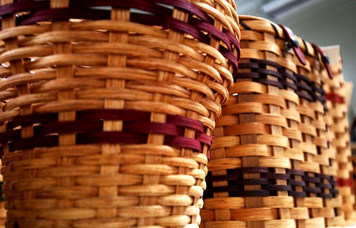 amish made baskets