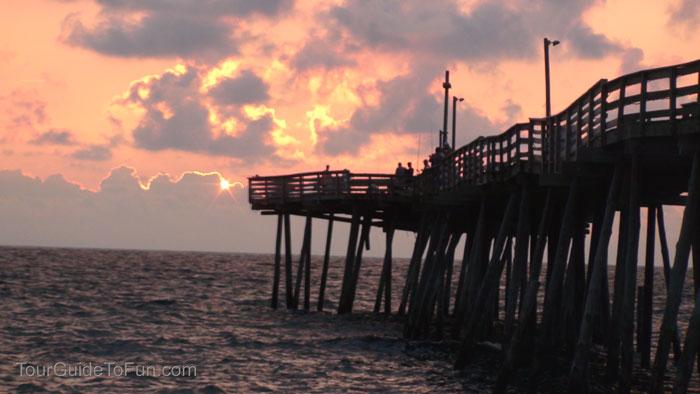 wooden fishing pier kill devil hills
