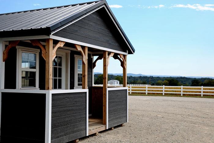 amish made shed