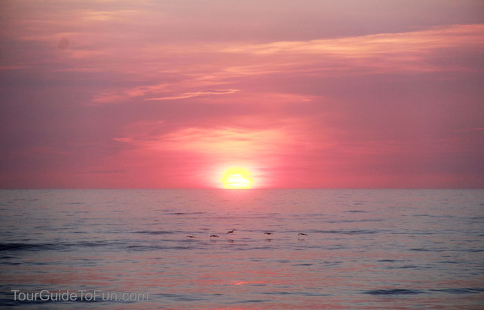 outer banks sunrise sunset
