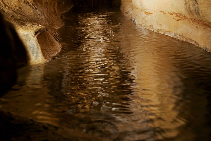 underground water in caverns