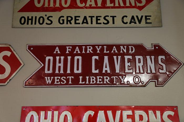 old ohio caverns signs