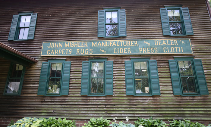 Mishler Weaving Mill - Smithville Ohio