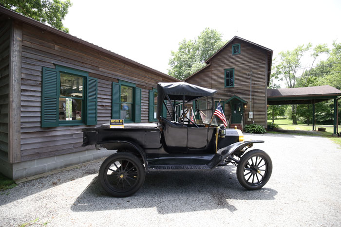 Model T at Model T Garage Museum Smithville Ohio