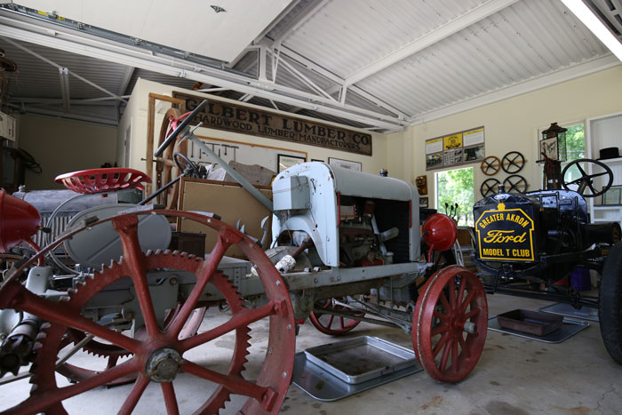 Model T Garage Museum at Mishler Weaving Mill