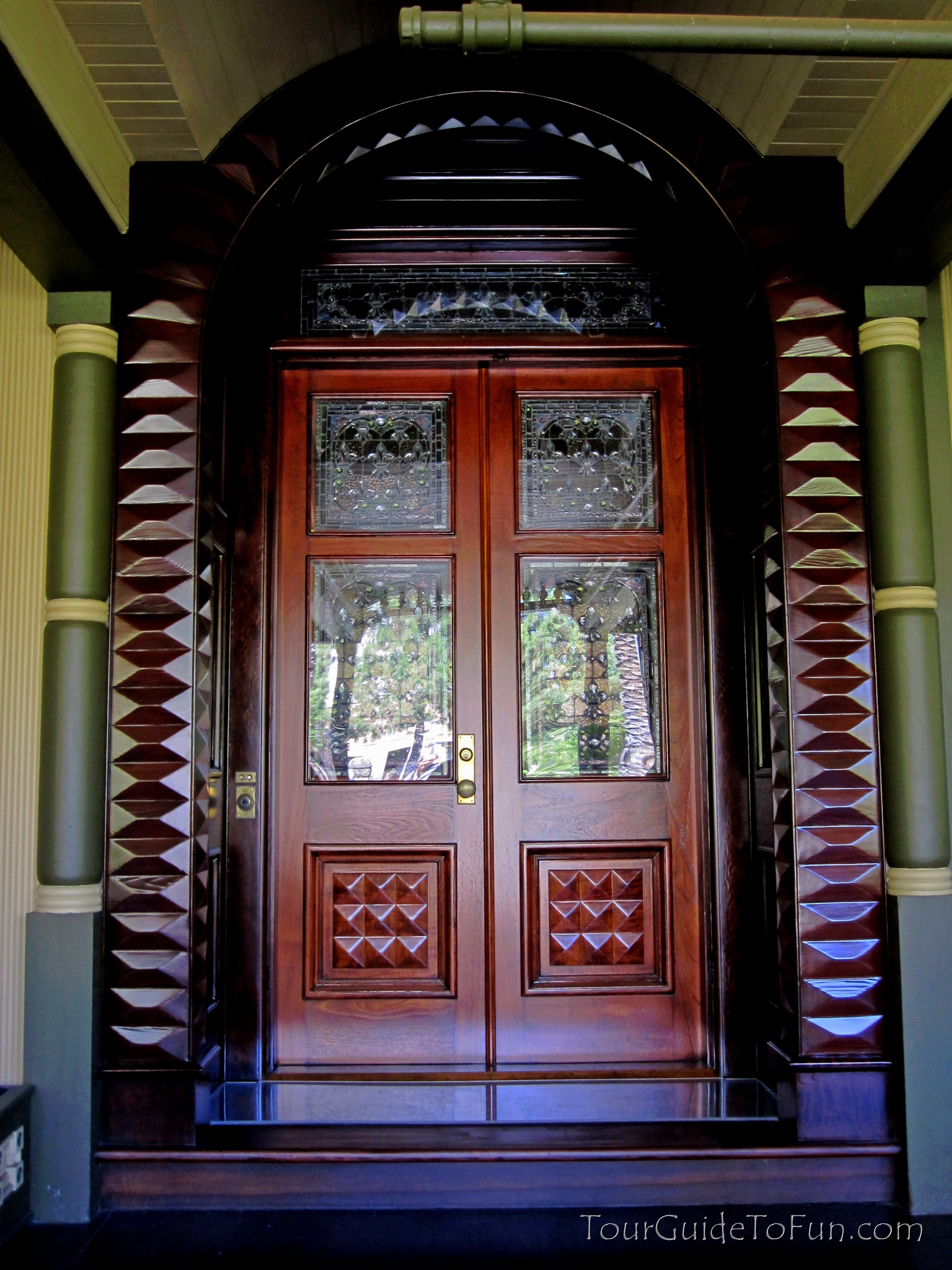 buy popular f9cff 4b8d4 front-doors-of-winchester-mansion - Tour Guide To Fun